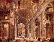 Interior of Saint Peter's, Rome