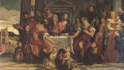 Supper at Emmaus (mk05), Paolo  Veronese