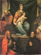 The Holy Family with Saints and the Master Alonso de Villegas, Prado, Blas del