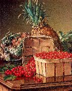 Still Life with Pineapple and Basket of Currants, Prentice, Levi Wells
