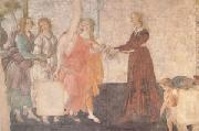A Young Woman Receives Gifts from Venus and the Three Graces (mk05), Sandro Botticelli
