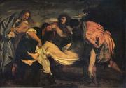 Titian The Entombment (mk05) oil painting on canvas