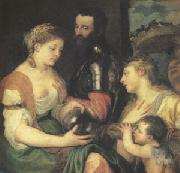 Titian An Allegory (mk05) oil painting