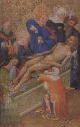 school of paris or Burgundy The Entombment of Christ (mk05) oil painting