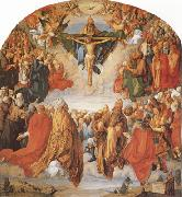 The Adoration of the Trinity (mk08), Albrecht Durer