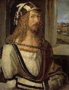 Albrecht Durer Self-portrait (mk08) oil painting