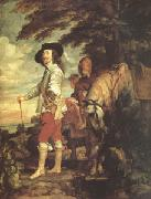 Charles I King of England Hunting (mk05), Anthony Van Dyck