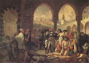 Baron Antoine-Jean Gros Bonaparte Visiting the Plague-Stricken at Jaffa on 11 March (mk05) oil painting artist