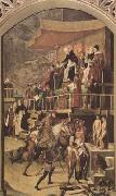 Court of Inquisition chaired by St Dominic (mk08), BERRUGUETE, Pedro