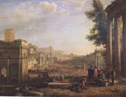 Claude Lorrain View of the Campo Vaccino ()mk05