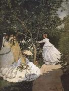 Women in the Garden (mk09), Claude Monet
