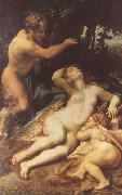 Correggio Zeus and Antiope (mk08) oil painting on canvas