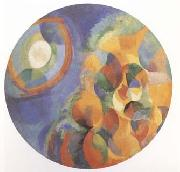 Delaunay, Robert Simulaneous Contrasts Sun and Moon (mk09) oil painting