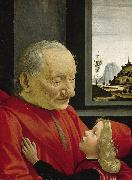 Old Man and Young Boy (mk08), Domenico Ghirlandaio