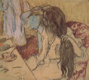 Woman at Her Toilette (mk05), Edgar Degas