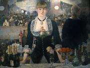 A Bar at the Folies-Bergere (mk09), Edouard Manet