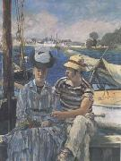 Argenteuil (The Boating Party) (mk09), Edouard Manet