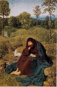 Geertgen Tot Sint Jans St John the Baptist in the Widerness (mk08) oil painting reproduction