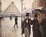 Paris Street A Rainy Day (mk09), Gustave Caillebotte