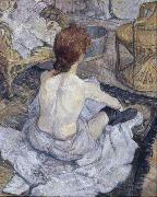 Henri  Toulouse-Lautrec The Toilette (mk09) oil painting