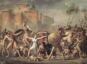 Jacques-Louis  David The Intervention of the Sabine Women (mk05)