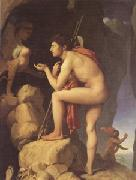 Oedipus Explains the RIddle of the Sphinx (mk05), Jean Auguste Dominique Ingres