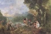 The Embarkation for Cythera (mk05), Jean-Antoine Watteau