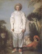 Pierrot also Known as Gilles (mk05), Jean-Antoine Watteau