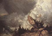 Joseph Mallord William Turner Avalanche in the Grisons (mk10) oil painting reproduction