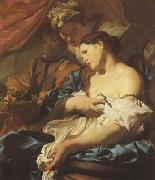 LISS, Johann The Death of Cleopatra (mk08) oil painting reproduction