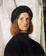 Portrait of a Young Man (mk08), Lorenzo Lotto
