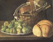 Still Life with Figs (mk05), Melendez, Luis Eugenio