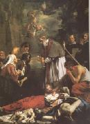 OOST, Jacob van, the Younger St Macaire of Ghent Tending the Plague-Stricken (mk05) oil painting