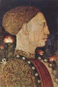 PISANELLO Portrait of Lionello d'Este (mk08) oil painting
