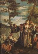 The Finding of Moses (mk08), Paolo  Veronese