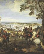 Crossing of the Rhine by the Army of Louis XIV on 12 June (mk05)