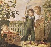 Philipp Otto Runge The Hulsenbeck Children (mk09) oil painting