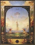 Philipp Otto Runge Morning (first version) (mk09) oil painting