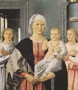 Piero della Francesca Senigallia Madonna (mk08) oil painting reproduction