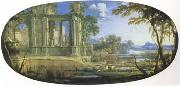 Pierre Pater The Elder Fantasti Landscape with Ruins (mk05) oil painting