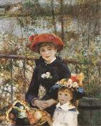 Pierre-Auguste Renoir On the Terrace (mk09) oil painting artist
