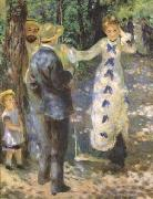 Pierre-Auguste Renoir The Swing (mk09) oil painting