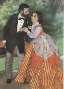 Pierre-Auguste Renoir The Painter Sisley and his Wife (mk09) oil painting