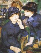Pierre-Auguste Renoir Two Girls (mk09) oil painting