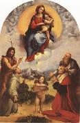 Raphael Madonna di Foligno (mk08) oil painting reproduction