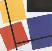 Theo van Doesburg Simultaneous Counter-Composition (mk09) oil painting
