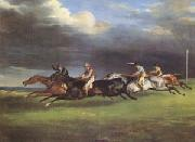 The Derby at Epsom in 1821 (mk05), Theodore   Gericault