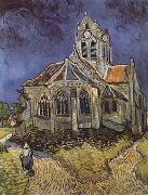 The Church at Auvers-sur-Oise (mk09), Vincent Van Gogh