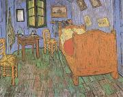 The Artist's Bedroom in Arles (mk09), Vincent Van Gogh