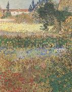 Garden in Bloom (mk09), Vincent Van Gogh